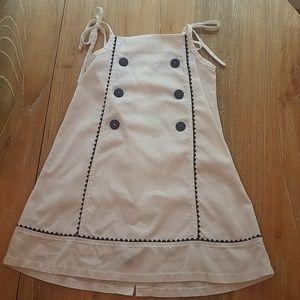 Bella Bliss white navy ric rac dress 5